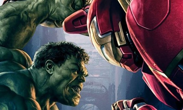 halk and ironman