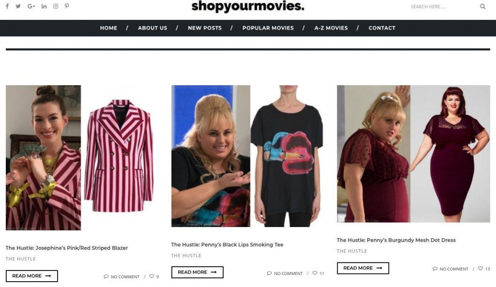 shopyourmoviesサイト