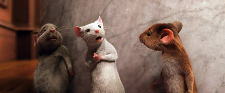 時限作用式ネズミニナールという薬でネズミに変えられてしまった